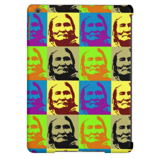 Pop Art Freedom Fighter Geronimo iPad Air Cases