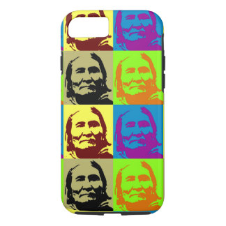 Pop Art Freedom Fighter Geronimo iPhone 8/7 Case