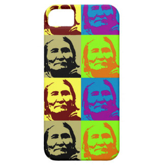 Pop Art Freedom Fighter Geronimo iPhone SE/5/5s Case