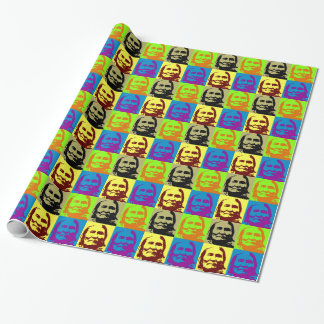 Pop Art Freedom Fighter Geronimo Wrapping Paper