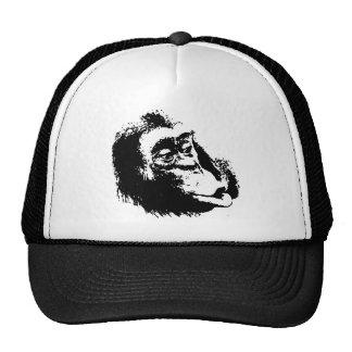 Pop Art Funny Chimpanzee Trucker Hat