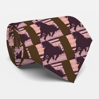 Pop Art Galloping Horse Tie