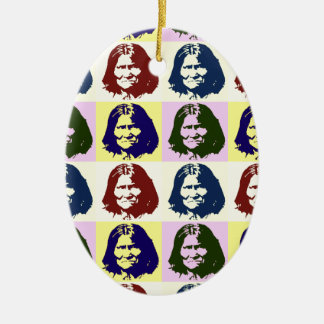 Pop Art Geronimo Ceramic Ornament