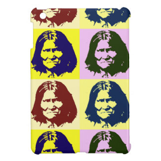 Pop Art Geronimo iPad Mini Cases
