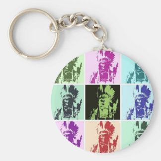 Pop Art Geronimo Keychain