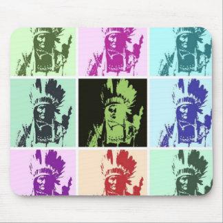 Pop Art Geronimo Mouse Pad