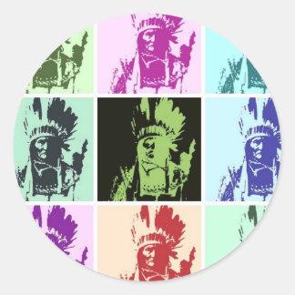 Pop Art Geronimo Stickers