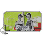 Pop Art Girls with Bad Decisions Laptop Speaker