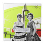 Pop Art Girls with Bad Decisions Tiles