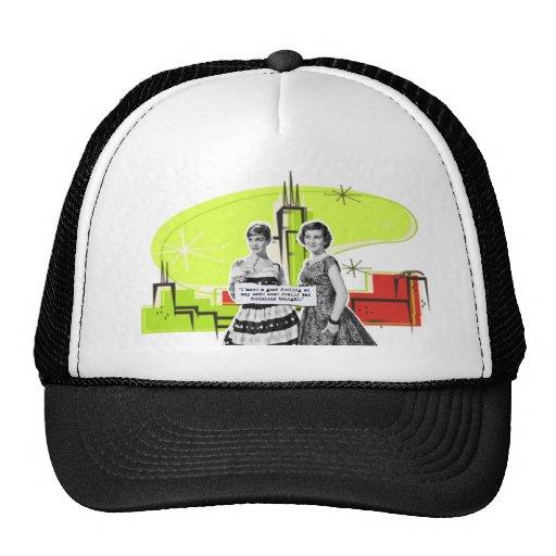 Pop Art Girls with Bad Decisions Trucker Hat