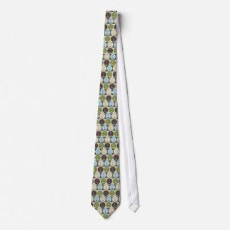 Pop Art Golf Neck Tie