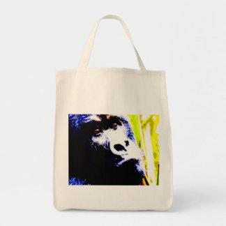 Pop Art Gorilla Canvas Bag