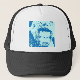 Pop Art Gorilla Faces Trucker Hat