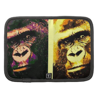 Pop Art Gorillas Folio Planner