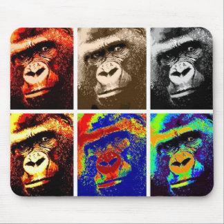 Pop Art Gorillas Mouse Pad