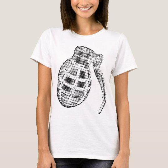Pop art grenade T-Shirt