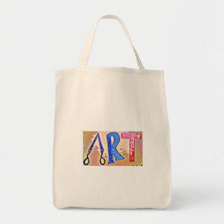 Pop Art Grocery Bag
