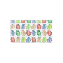 Pop Art Guinea Pig Pattern Checkbook Cover