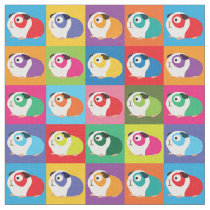 Pop Art Guinea Pigs Fabric