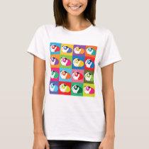 Pop Art Guinea Pigs T-Shirt