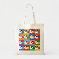 Pop Art Guinea Pigs Tote Bag