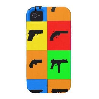 Pop Art Guns iPhone 4 Case