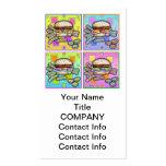Pop Art HAMBURGER BUSINESS CARD