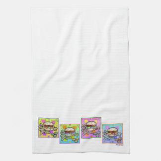 Pop Art HAMBURGER KITCHEN TOWEL