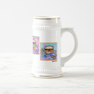 Pop Art HAMBURGER MUG - Beer Stein