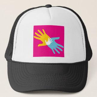 Pop Art Hands Trucker Hat