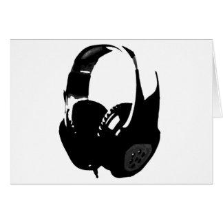 Pop Art Headphone Card