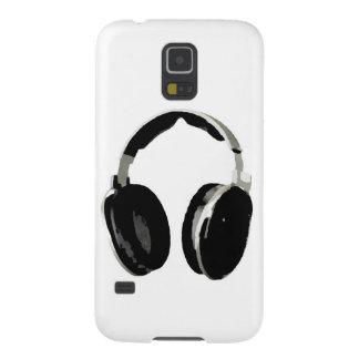 Pop Art Headphone Galaxy S5 Covers