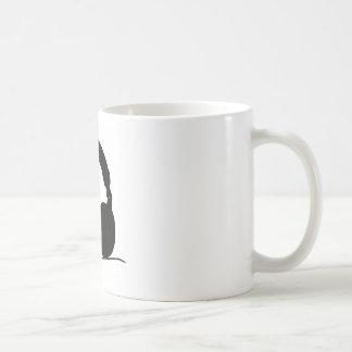 Pop Art Headphone Coffee Mugs
