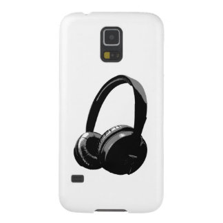 Pop Art Headphone Galaxy S5 Cover