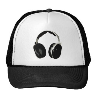 Pop Art Headphone Trucker Hats