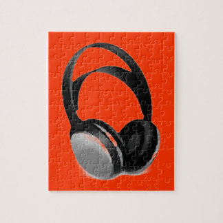 Pop Art Headphone Jigsaw Puzzle