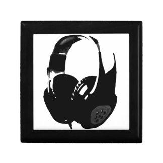 Pop Art Headphone Keepsake Box