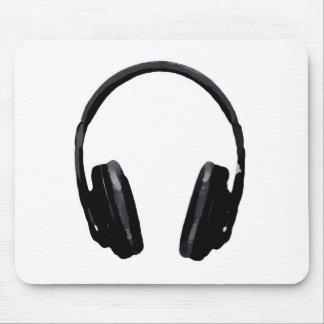 Pop Art Headphone Mouse Pad