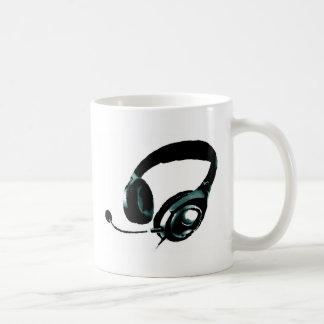 Pop Art Headphone Mug