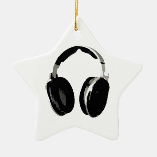 Pop Art Headphone Ornaments