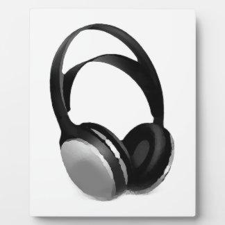 Pop Art Headphone Display Plaques