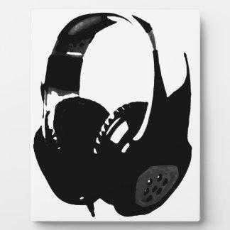 Pop Art Headphone Plaque