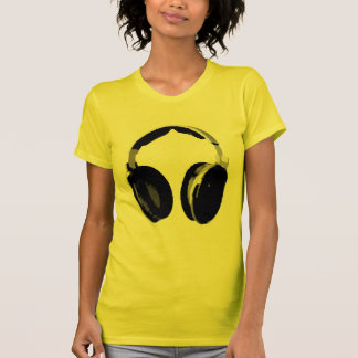 Pop Art Headphone T-Shirt