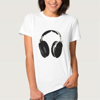 Pop Art Headphone T-shirts