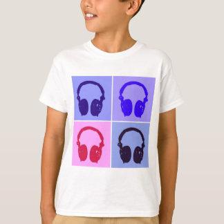 Pop Art Headphones T-Shirt