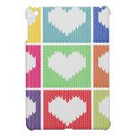 Pop art heart ornament cover for the iPad mini