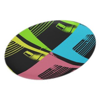 Pop Art Hemi Cuda Plate
