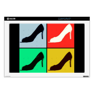 Pop Art High Heel Pumps Skin For Laptop