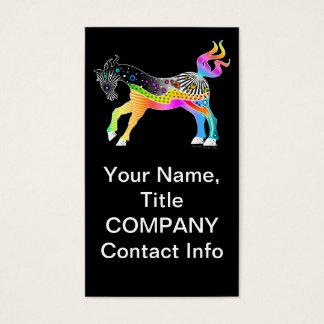 Pop Art HORSE Business Card