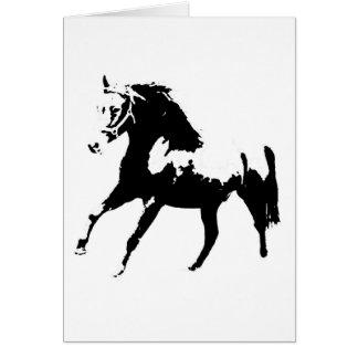 Pop Art Horse Card